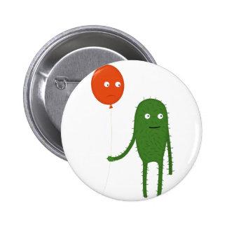 unusual friendship pinback button