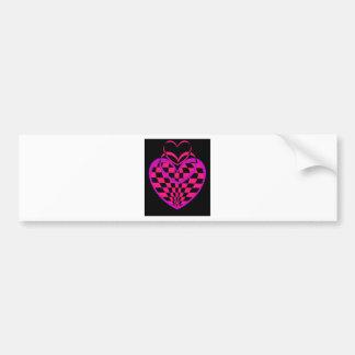 Unusual Hearts Gifts Valentines Day CricketDiane Bumper Sticker