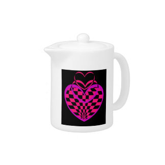 Unusual Hearts Gifts Valentines Day CricketDiane Teapot