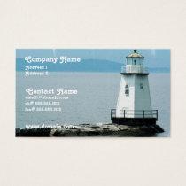 Unusual Lighthouse Busness Card