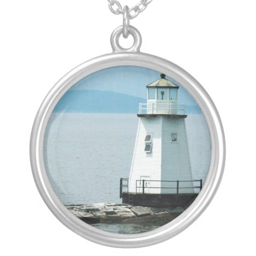 Unusual Lighthouse Necklace