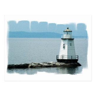 Unusual Lighthouse Postcard