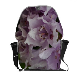Unusual Lilac Petal Messenger Bag