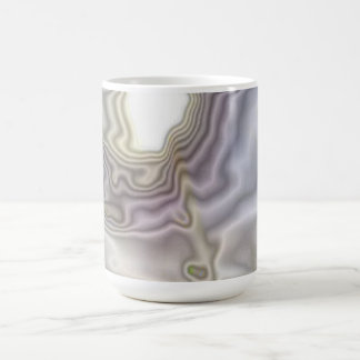 Unusual modern art coffee mug