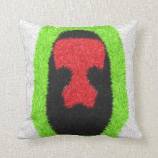 Unusual pattern throw pillow