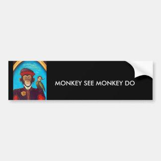 Unusual Pet Car Bumper Sticker