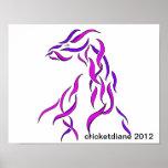 Unusual Ribbon Dragon - CricketDiane 2012 Poster
