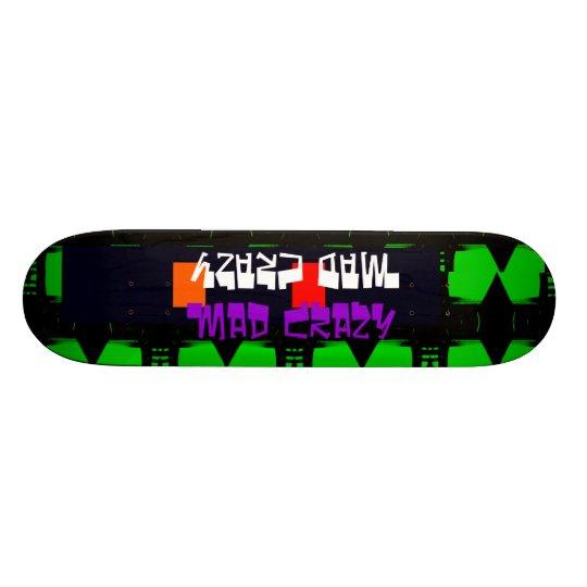 Unusual Skateboard Deck 12 Mad Crazy Design