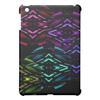 Unusual Spectrum Geometric Urban Futurism Nerdy iPad Mini Case