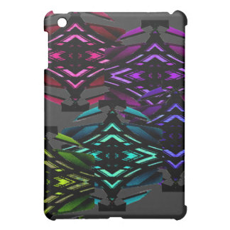 Unusual Spectrum Geometric Urban Futurism Nerdy iPad Mini Covers