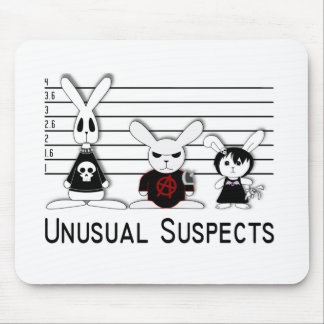 Unusual Suspects Mouse Pad