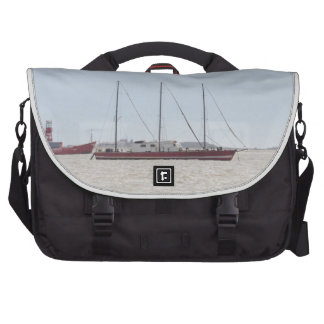Unusual Three Masted Sailing Vessel Bag For Laptop