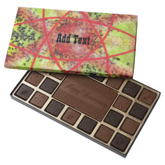 Unusual trendy pattern assorted chocolates