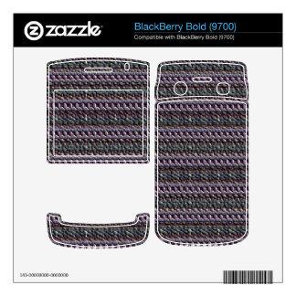Unusual trendy pattern BlackBerry skin