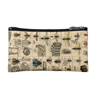 Unusual Vintage Insect Illustrated Chart Bug Bag