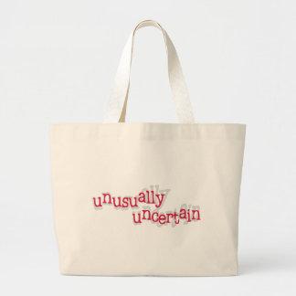 Unusually Uncertain Large Tote Bag