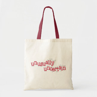 Unusually Uncertain Tote Bag