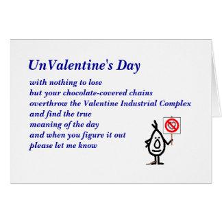UnValentine's Day Card
