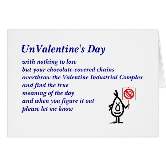 UnValentine's Day Card