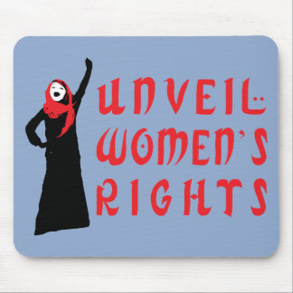 Unveil Muslim Women's Rights Mouse Mats