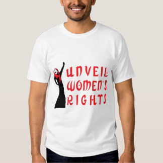 Unveil Muslim Women's Rights T-Shirt