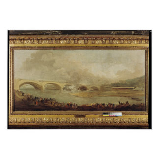 Unveiling of the Pont de Neuilly, 1772 Poster