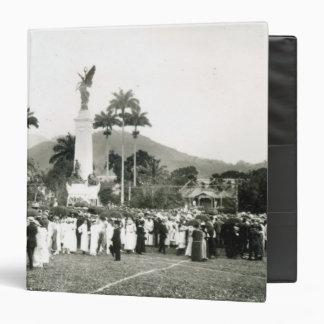Unveiling of War Memorial 3 Ring Binder