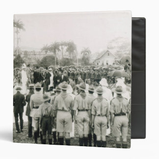 Unveiling of War Memorial 3 Ring Binder