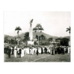 Unveiling of War Memorial Postcard