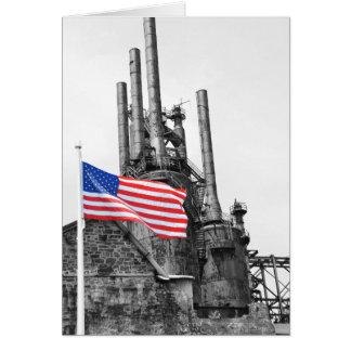 Unwavering Flag Card