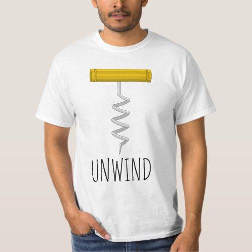 Unwind Corkscrew T-Shirt