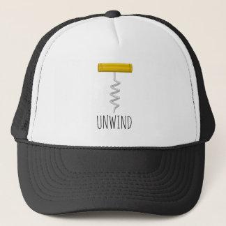 Unwind Corkscrew Trucker Hat