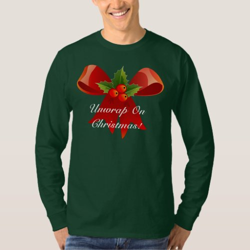 Unwrap On Christmas Ugly Christmas Sweater After Christmas Sales 3309