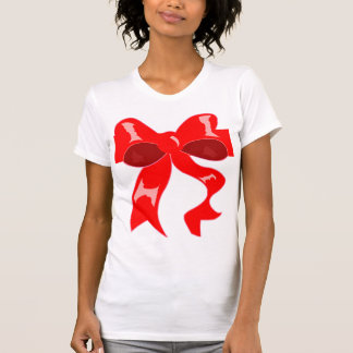 """Unwrap with care""--Christmas Bow Tank"