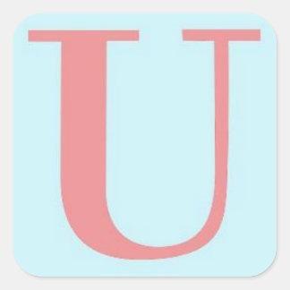 Unwritten Logo Sticker