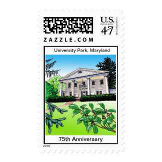 UP 75th Anniversary Bloomfield House Stamp
