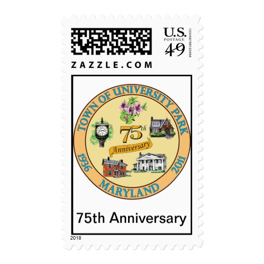 UP 75th Anniversary Logo Stamp