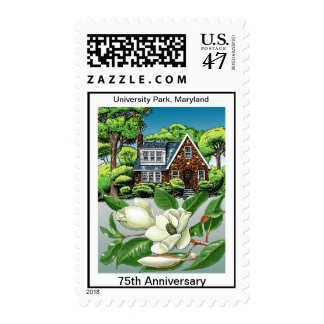 UP 75th Anniversary Magnolia House Stamp