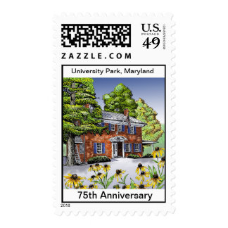 UP 75th Anniversary Town Hall Stamp