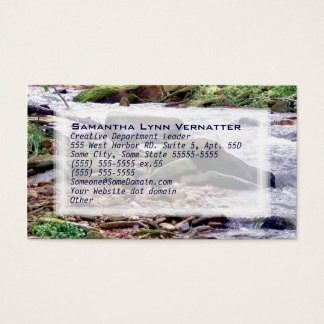Up A Creek Business Card