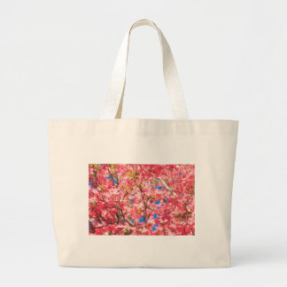 Up a Pink Red Dogwood Tree Tote Bag
