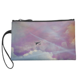 Up Above the World Wristlet Purses
