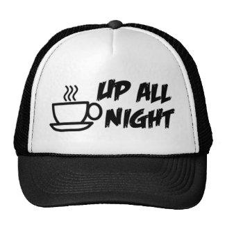 Up All Night Trucker Cap Trucker Hat