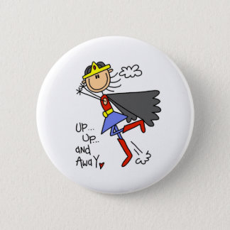 Up and Away Girl Hero Button