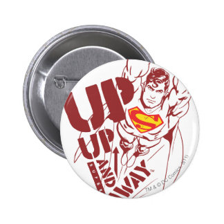 Up and Away Pinback Button