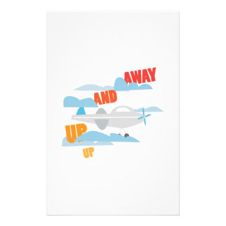 Up And Away Stationery