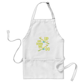 Up And Down Adult Apron