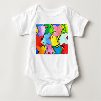 Up and Down Birds Infant Creeper