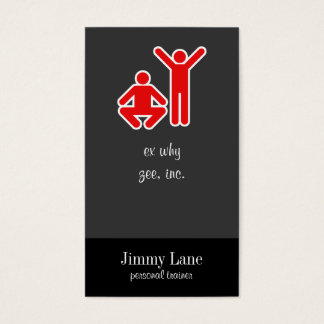 Up and Down Business Card