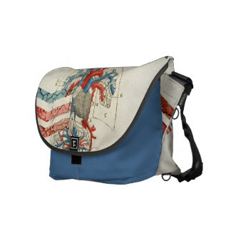 Up and Down Courier Bag